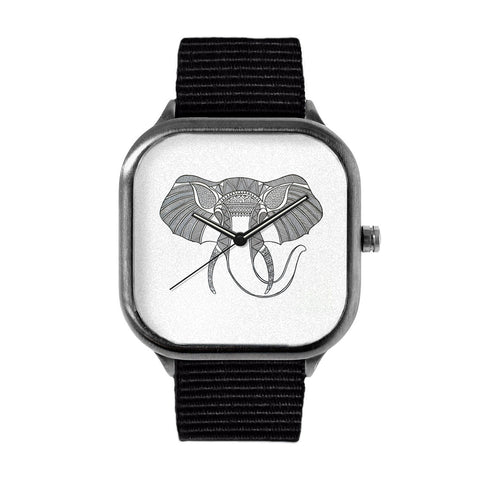 Elephant head Watch