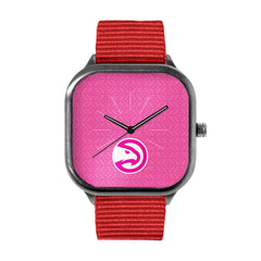 Pink Atlanta Hawks Watch