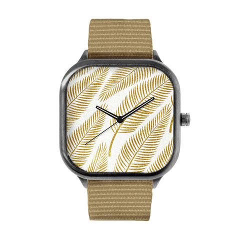 Golden Palm Watch
