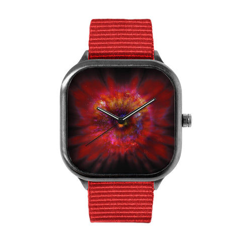 Red Planeti Alloy watch
