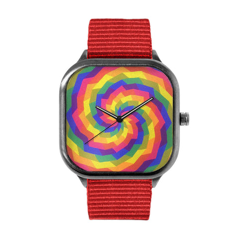 Rainbow Swirl Watch