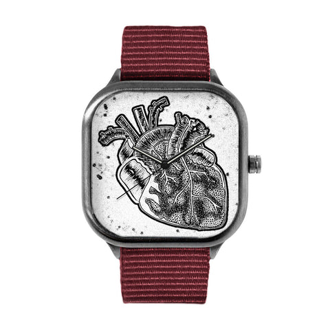 Anatomical heart Watch