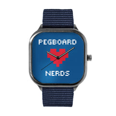Pegboard Nerds Blue Watch
