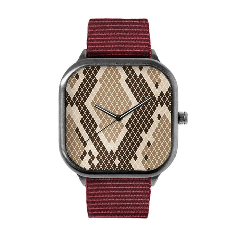 Snake Skin Alloy watch