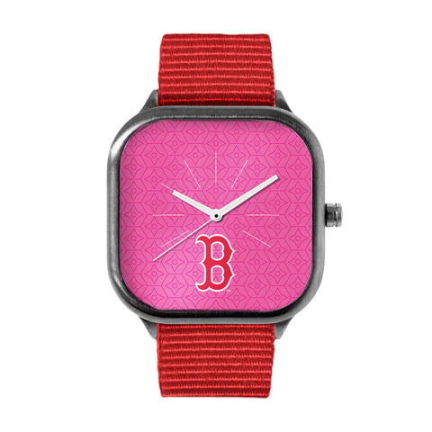 Pink Boston Red Sox Watch