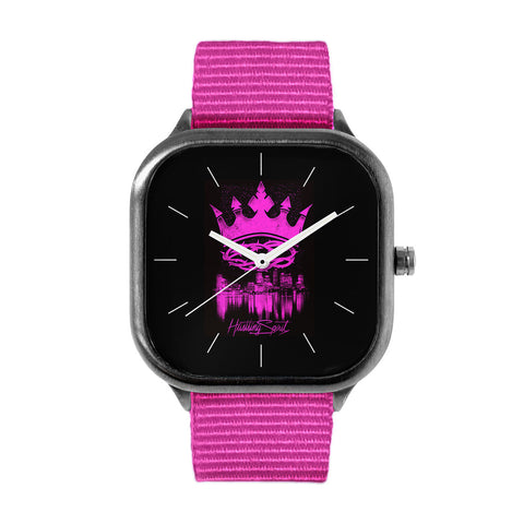 Pink Crown Watch