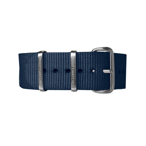 Navy Nylon Watch Strap