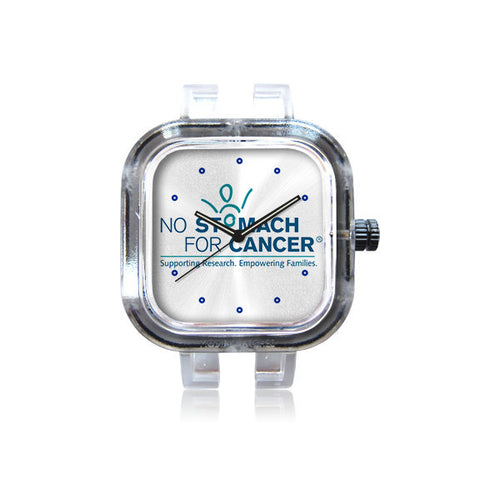 No Stomach For Cancer Logo watch