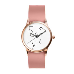 Ink Figure Rose Watch