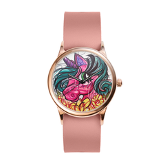 Sassy the Unicorn Rose Watch