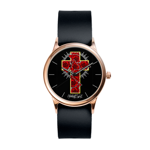 """Rose Cross"" Watch"