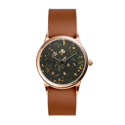 Old World Florals Rose Watch