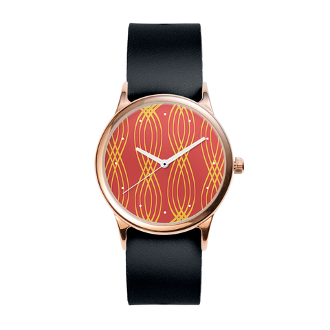 Intertwine Rose Watch