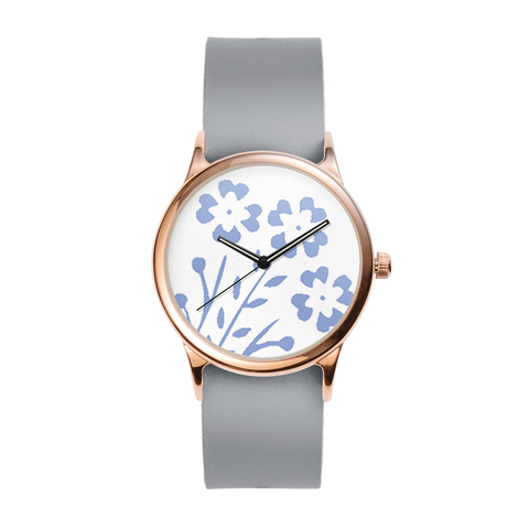 Cornflower Rose Watch