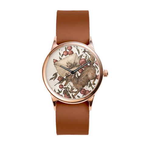 Coyote Love Letters Rose Watch