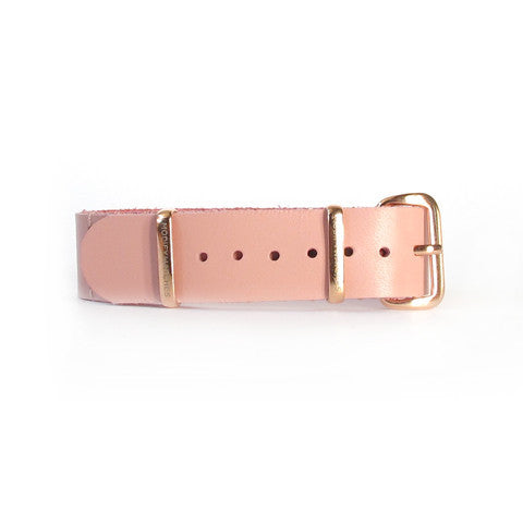 Rose Leather Watch Strap (16mm)