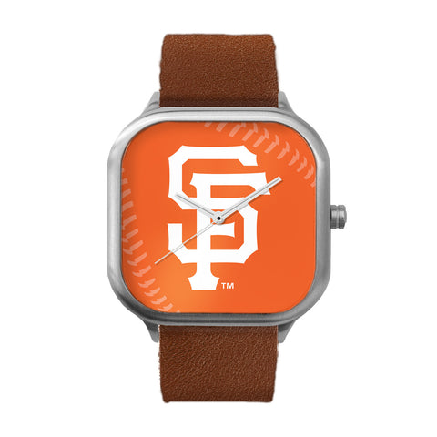 San Francisco Giants Stitch Stainless Steel Watch