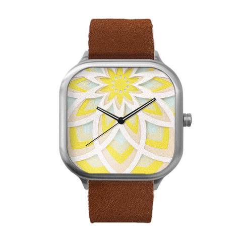 Bloom Stainless Steel Watch