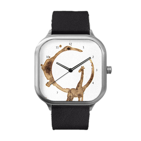 Giraffed Stainless Steel Watch
