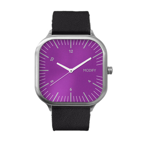 Purple 3.0 Stainless Steel Watch