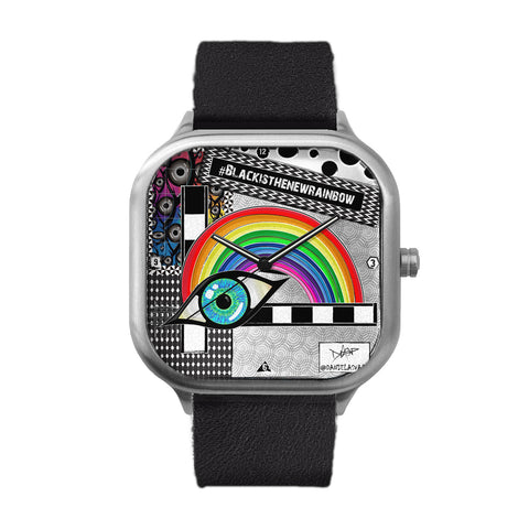 The New Rainbow Stainless Steel Watch