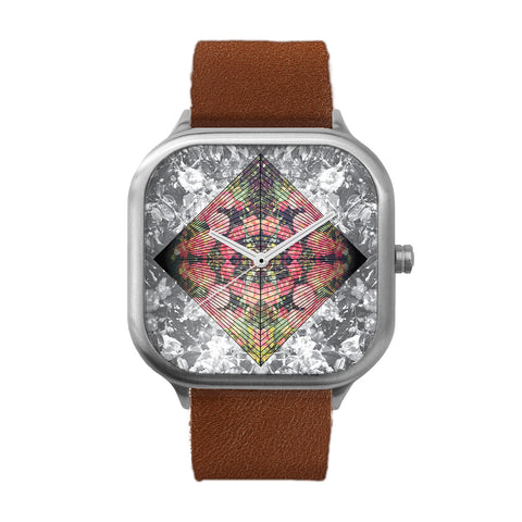 Jupiter flowers Stainless Steel Watch