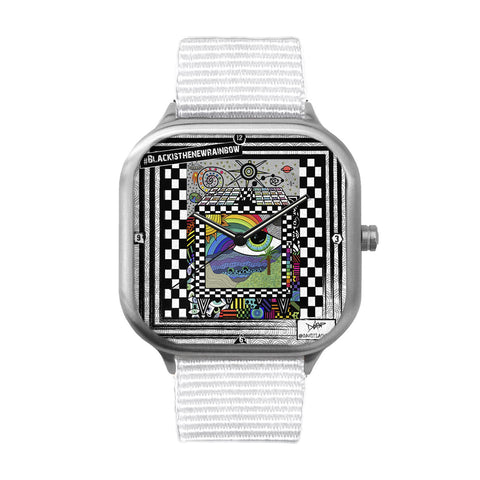 Rainbow Tv Stainless Steel Watch