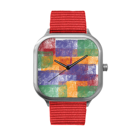 Patches Stainless Steel Watch