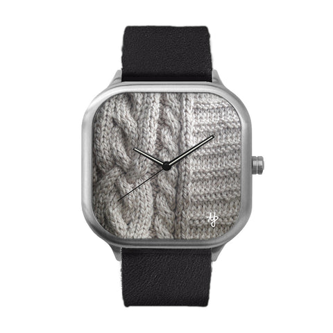Knitted Stainless Steel Watch