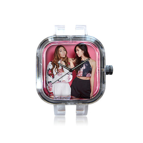 Seoulsisters PinkFlowers watch