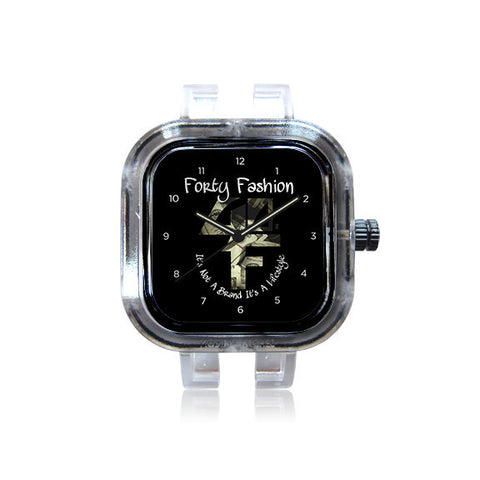 Forty Fashion Logo Watch