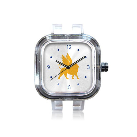 Mark Day White Logo Numbered Watch