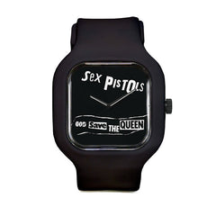 Sex Pistols God Save the Queen Sport Watch