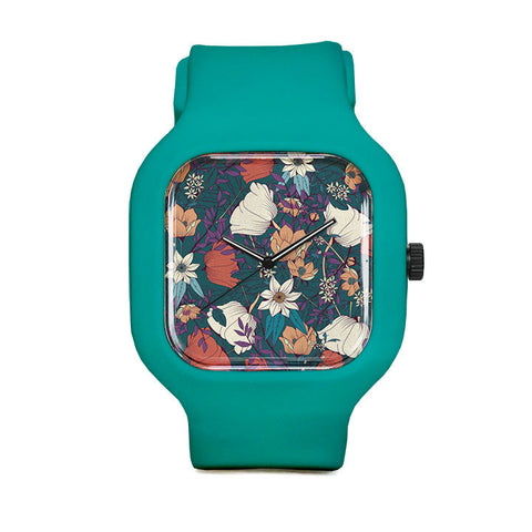 Botanical Pattern 8 Sport Watch