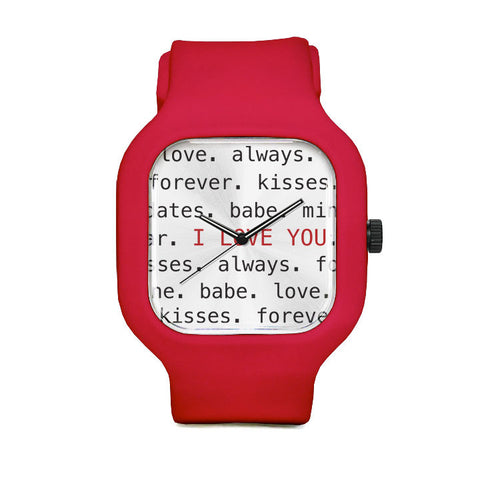 Terms of Endearment Sport Watch