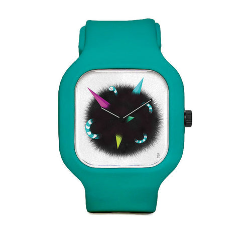 Erica Mizu - Fluffy Moon Sport Watch