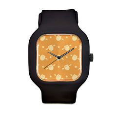 Bat Pattern Sport Watch