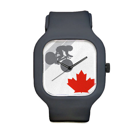 Leaf Silhouette Sport Watch