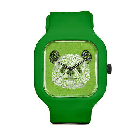 Swirly Panda Sport Watch