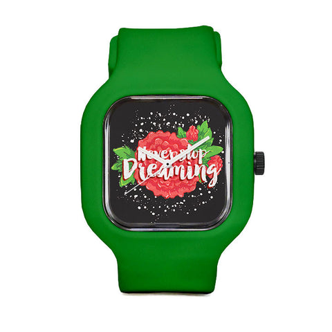 Sarah C Never Stop Dreaming Sport Watch