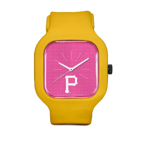 Pink Pittsburgh Pirates Sport Watch