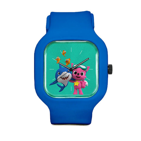 Pinkfong and Shark Sport Watch