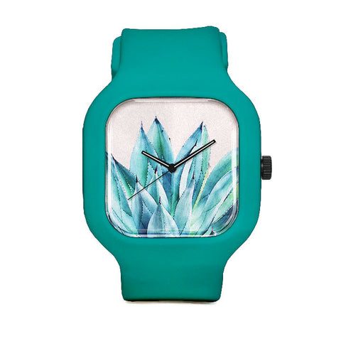 Agave Watercolor Sport Watch