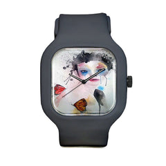 Butterfly Girl Sport Watch