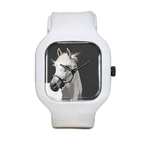 White Stallion Sport Watch