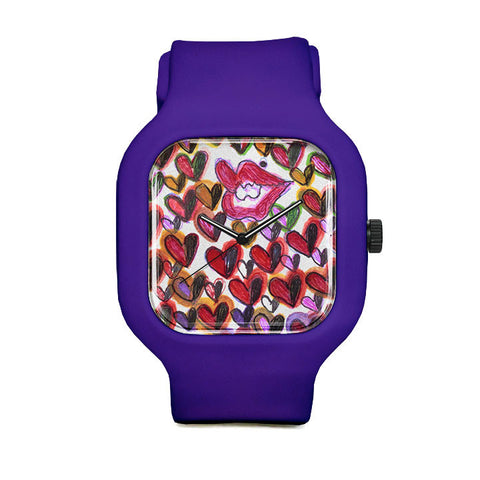 Lovely Lips by Cheryl Rutledge Sport Watch