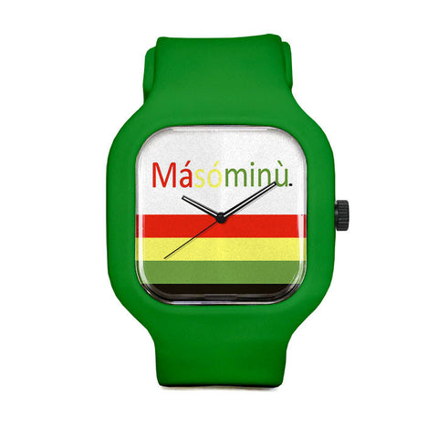 Masominu Stripes Sport Watch