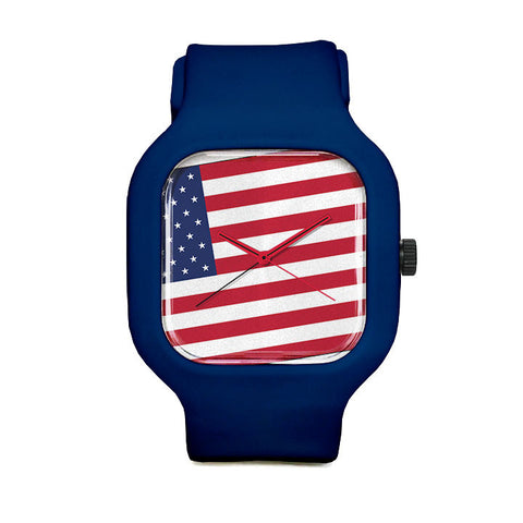 American Flag Watch Sport Watch