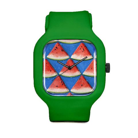 Summer Time Watermelon Sport Watch