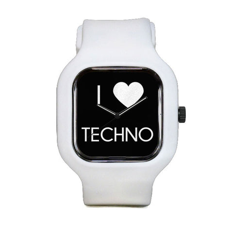I Love Techno Sport Watch